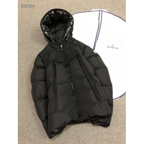 Moncler Down Feather Coat Long Sleeved Zipper For Men #810776