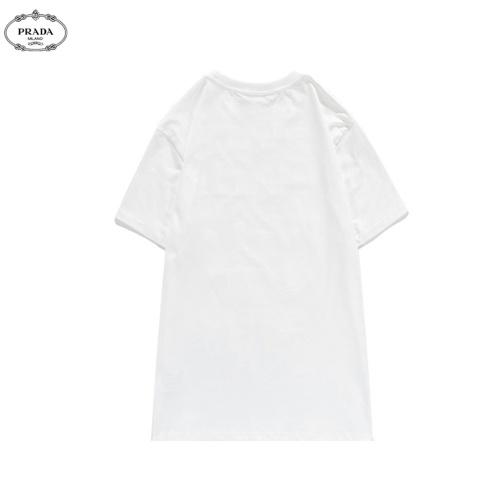 Replica Prada T-Shirts Short Sleeved O-Neck For Men #810780 $27.00 USD for Wholesale