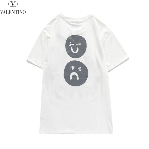 Replica Valentino T-Shirts Short Sleeved O-Neck For Men #810784 $29.00 USD for Wholesale