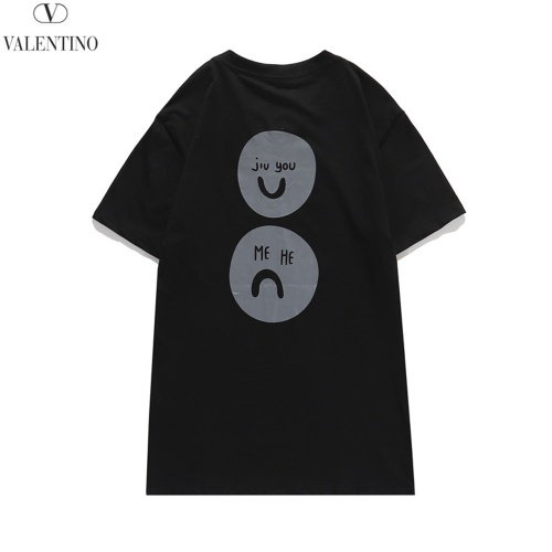 Replica Valentino T-Shirts Short Sleeved O-Neck For Men #810785 $29.00 USD for Wholesale