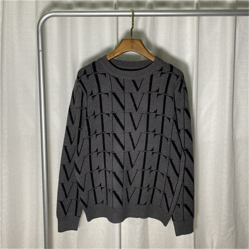 Valentino Sweaters Long Sleeved O-Neck For Men #810790 $45.00 USD, Wholesale Replica Valentino Sweaters