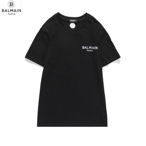 Balmain T-Shirts Short Sleeved O-Neck For Men #810792