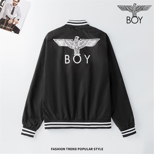 Boy London Jackets Long Sleeved Zipper For Men #810796 $48.00 USD, Wholesale Replica Boy London Jackets