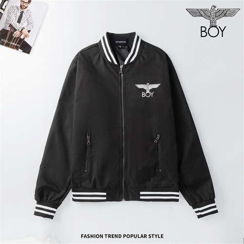Replica Boy London Jackets Long Sleeved Zipper For Men #810796 $48.00 USD for Wholesale