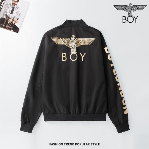 Boy London Jackets Long Sleeved Zipper For Men #810798 $48.00 USD, Wholesale Replica Boy London Jackets