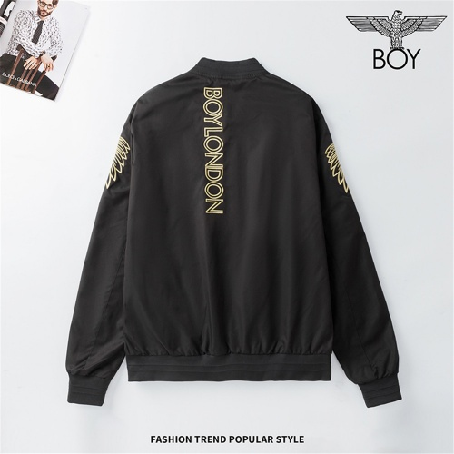 Replica Boy London Jackets Long Sleeved Zipper For Men #810801 $48.00 USD for Wholesale