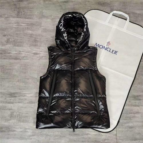 Moncler Down Vest Sleeveless Zipper For Unisex #810826