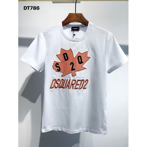 Dsquared T-Shirts Short Sleeved O-Neck For Men #810839