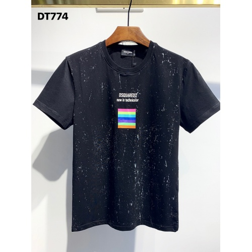 Dsquared T-Shirts Short Sleeved O-Neck For Men #810851