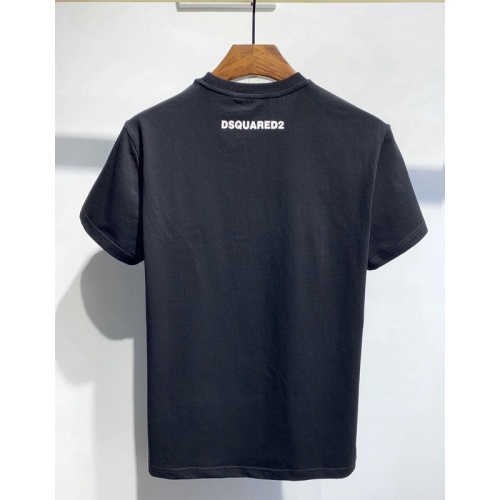 Replica Dsquared T-Shirts Short Sleeved O-Neck For Men #810855 $26.00 USD for Wholesale