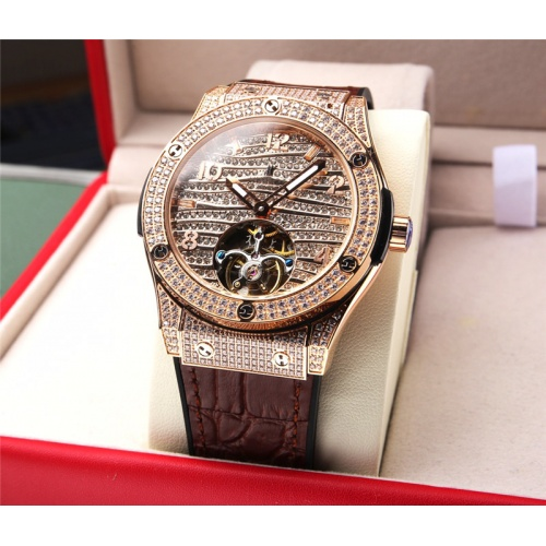Replica HUBLOT AAA Quality Watches For Men #810901 $272.00 USD for Wholesale