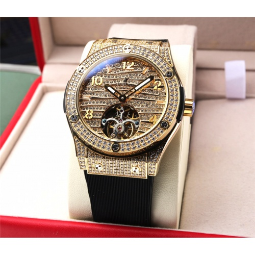 Replica HUBLOT AAA Quality Watches For Men #810903 $272.00 USD for Wholesale