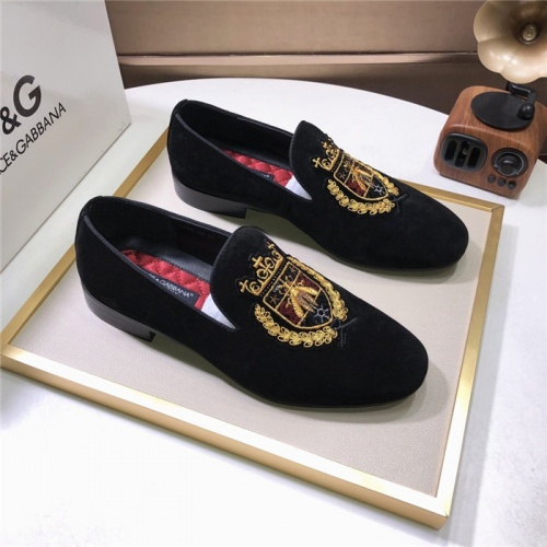 Dolce & Gabbana D&G Leather Shoes For Men #810943