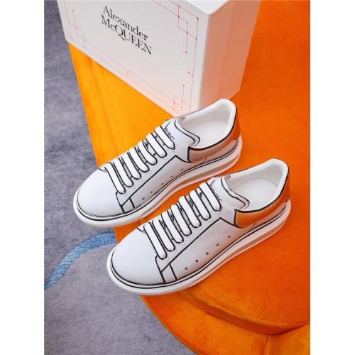 Alexander McQueen Casual Shoes For Women #810986