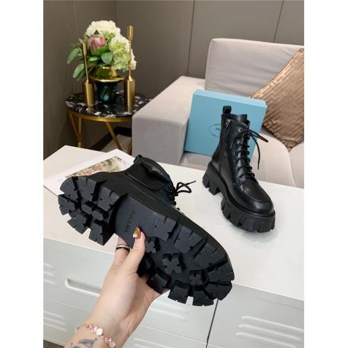 Replica Prada Boots For Women #811049 $115.00 USD for Wholesale