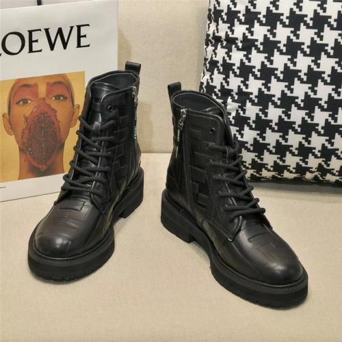Replica Fendi Boots For Women #811061 $112.00 USD for Wholesale