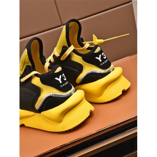 Replica Y-3 Casual Shoes For Women #811085 $82.00 USD for Wholesale