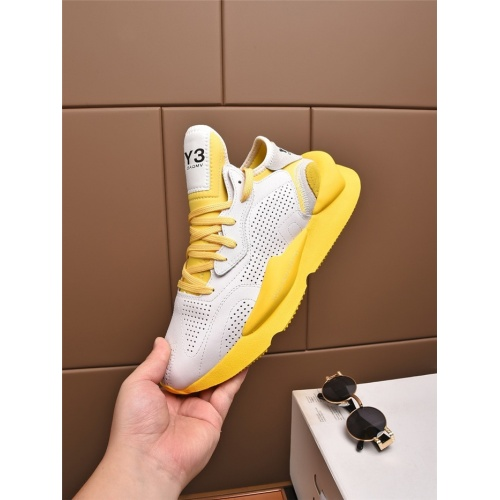 Replica Y-3 Casual Shoes For Men #811097 $82.00 USD for Wholesale
