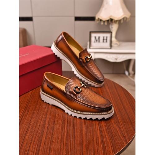 Ferragamo Salvatore FS Casual Shoes For Men #811125