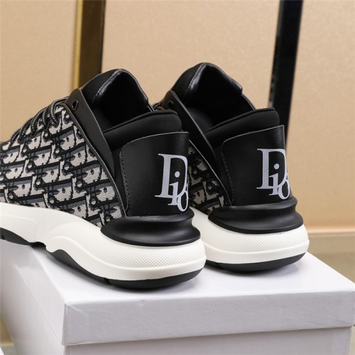 Replica Christian Dior Casual Shoes For Men #811145 $76.00 USD for Wholesale