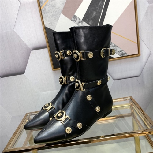 Versace Boots For Women #811319