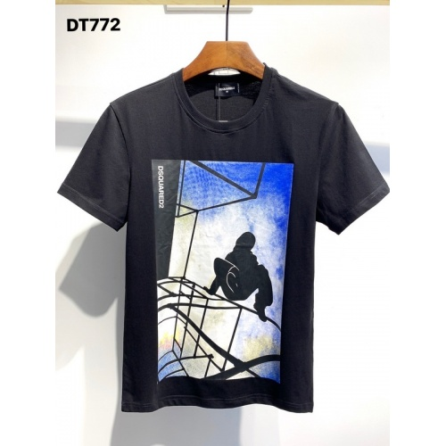 Dsquared T-Shirts Short Sleeved O-Neck For Men #811326