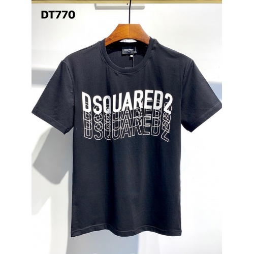 Dsquared T-Shirts Short Sleeved O-Neck For Men #811328