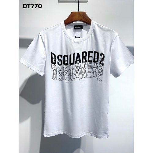 Dsquared T-Shirts Short Sleeved O-Neck For Men #811329