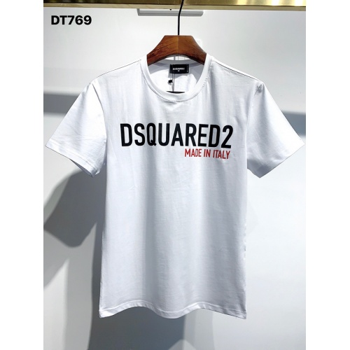 Dsquared T-Shirts Short Sleeved O-Neck For Men #811330