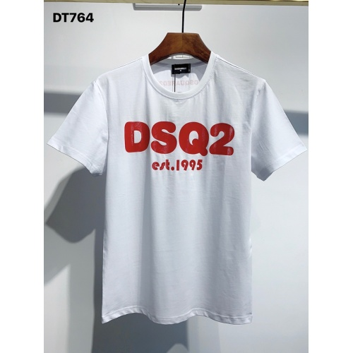 Dsquared T-Shirts Short Sleeved O-Neck For Men #811337 $26.00 USD, Wholesale Replica Dsquared T-Shirts