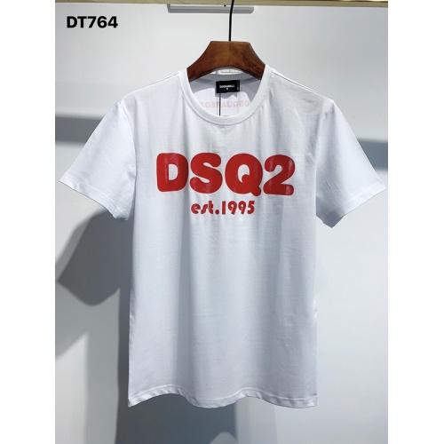 Dsquared T-Shirts Short Sleeved O-Neck For Men #811337