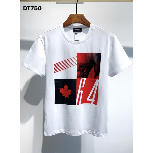 Dsquared T-Shirts Short Sleeved O-Neck For Men #811343 $26.00 USD, Wholesale Replica Dsquared T-Shirts