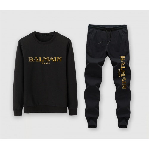 Balmain Tracksuits Long Sleeved O-Neck For Men #811350