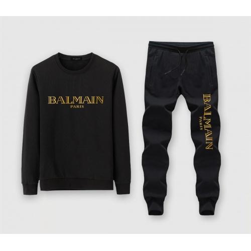 Balmain Tracksuits Long Sleeved O-Neck For Men #811350
