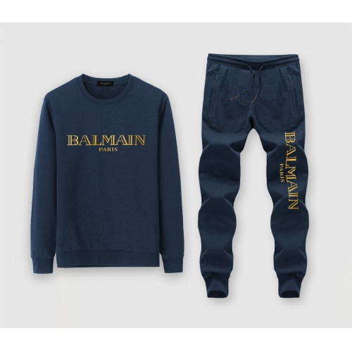 Balmain Tracksuits Long Sleeved O-Neck For Men #811352