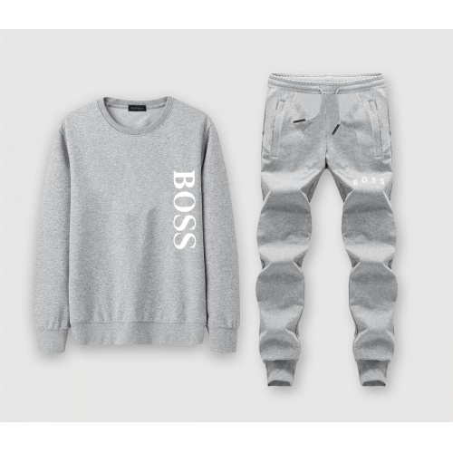 Boss Tracksuits Long Sleeved O-Neck For Men #811370 $72.00 USD, Wholesale Replica Boss Tracksuits