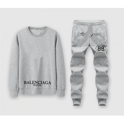 Balenciaga Fashion Tracksuits Long Sleeved O-Neck For Men #811374