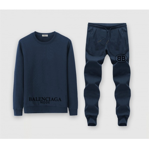 Balenciaga Fashion Tracksuits Long Sleeved O-Neck For Men #811375