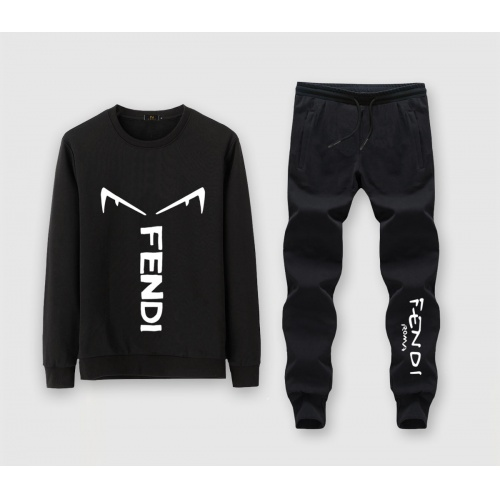 Fendi Tracksuits Long Sleeved O-Neck For Men #811390