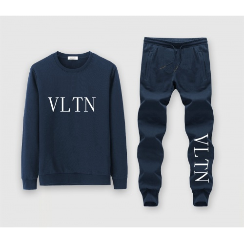 Valentino Tracksuits Long Sleeved O-Neck For Men #811393 $72.00 USD, Wholesale Replica Valentino Tracksuits