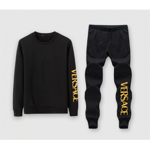 Versace Tracksuits Long Sleeved O-Neck For Men #811394 $72.00 USD, Wholesale Replica Versace Tracksuits