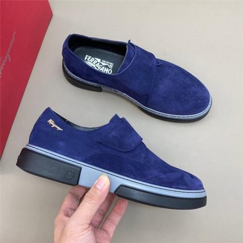 Ferragamo Salvatore FS Casual Shoes For Men #811446