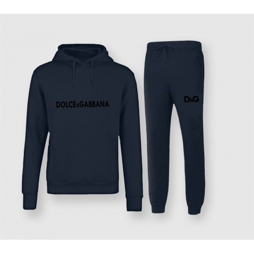 Dolce & Gabbana D&G Tracksuits Long Sleeved Hat For Men #811535