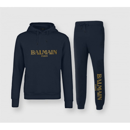 Balmain Tracksuits Long Sleeved Hat For Men #811595 $82.00 USD, Wholesale Replica Balmain Tracksuits