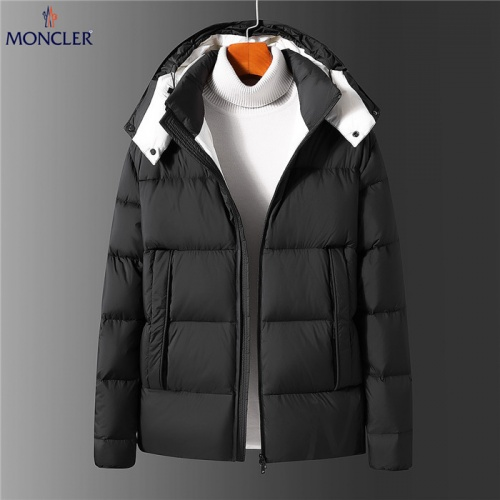 Moncler Down Feather Coat Long Sleeved For Men #811646