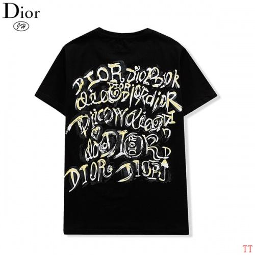 Christian Dior T-Shirts Short Sleeved O-Neck For Men #811651