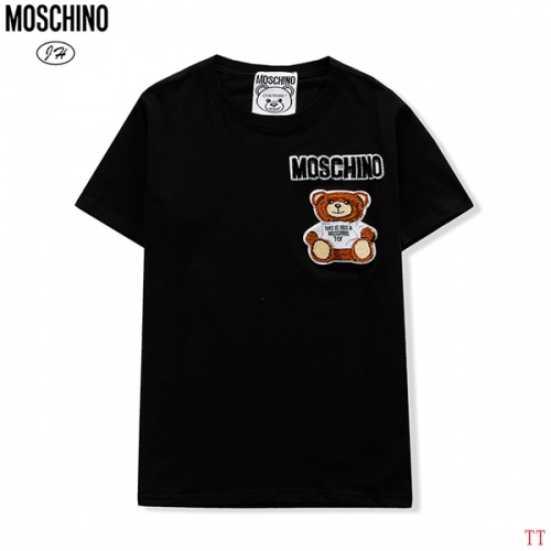 Moschino T-Shirts Short Sleeved O-Neck For Men #811654