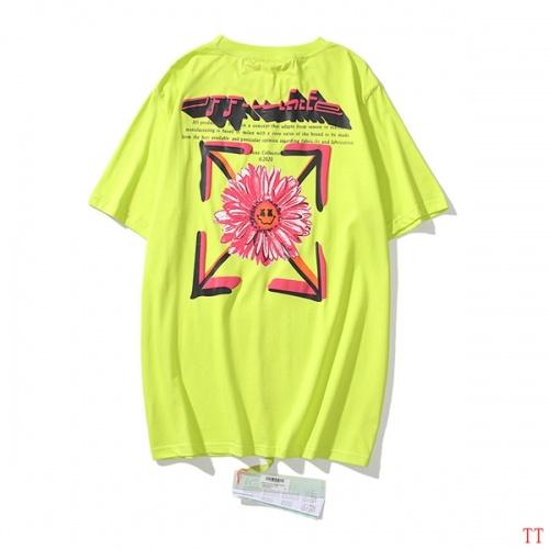 Off-White T-Shirts Short Sleeved O-Neck For Men #811656