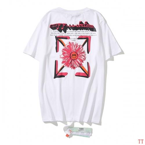 Off-White T-Shirts Short Sleeved O-Neck For Men #811658