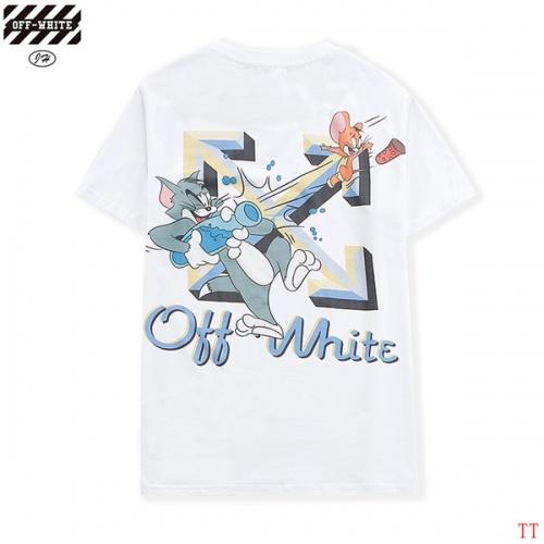 Off-White T-Shirts Short Sleeved O-Neck For Men #811660